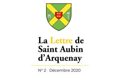 Bulletin municipal nº2 – Décembre 2020