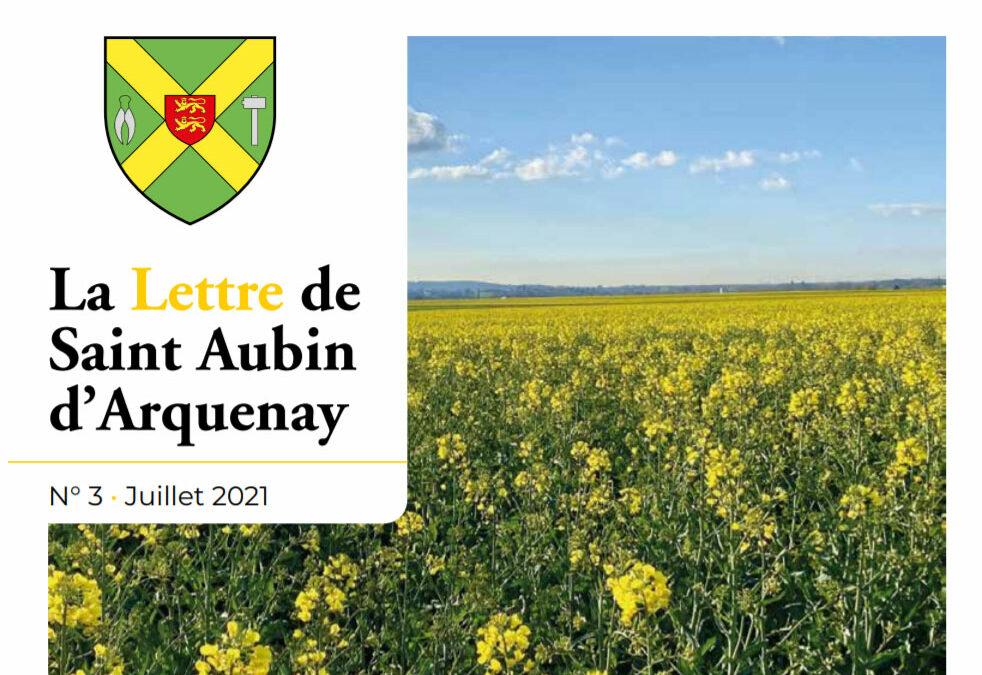 Bulletin municipal nº3 – juillet 2021