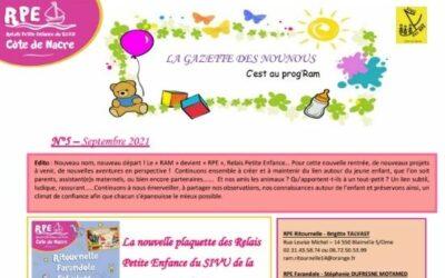 La Gazette des Nounous N°5 – Septembre 2021